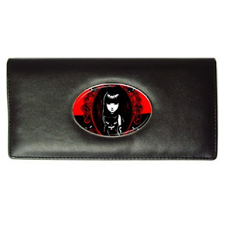 Emily The Strange Cat Ladies Long Wallet Gift Credit Card Holder Design A