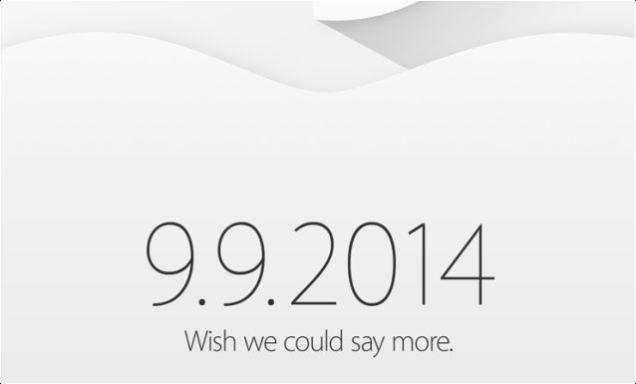 """Apple presentará el iPhone 6 el próximo 9 de Septiembre """"CONFIRMADO"""""""