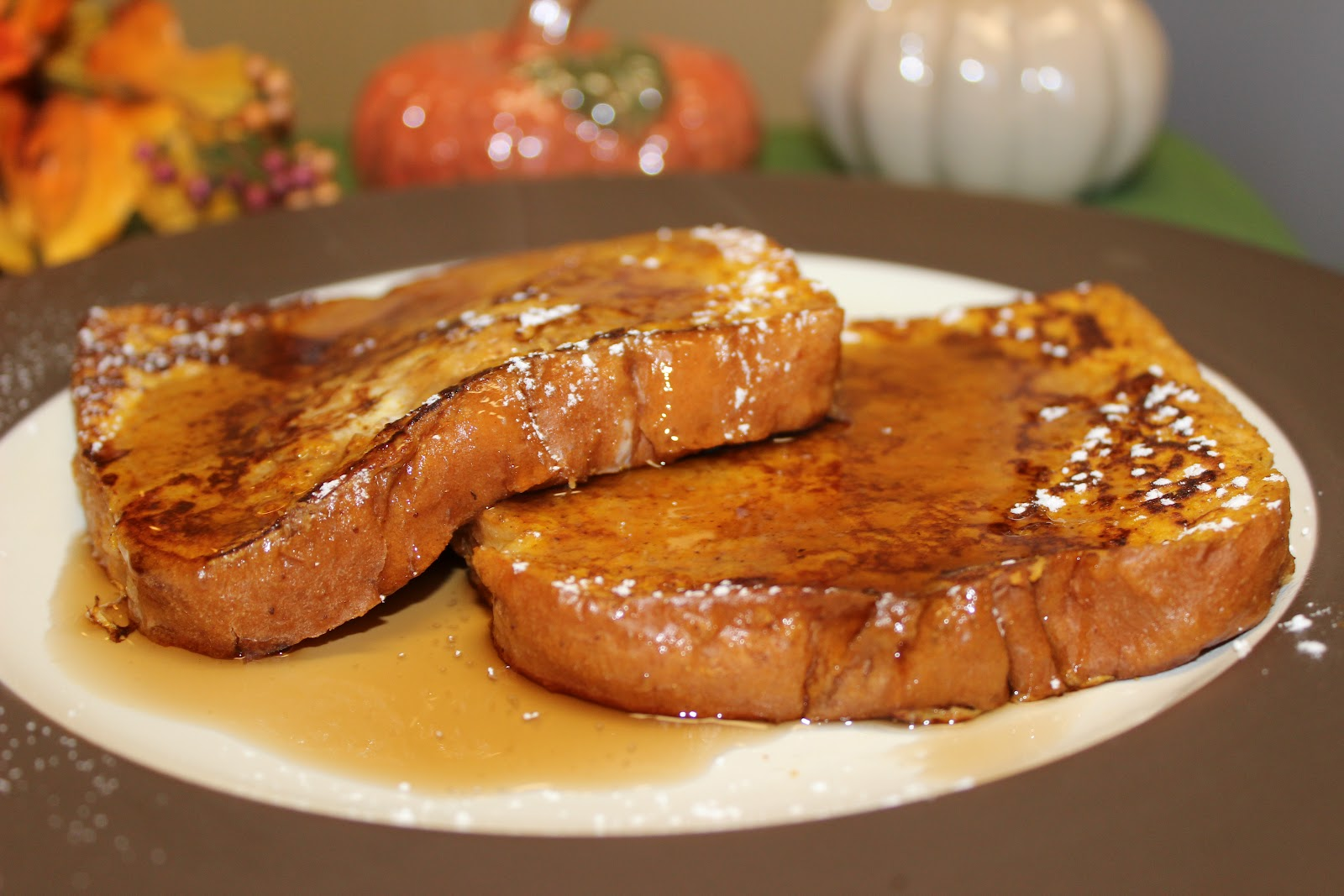 The Cookbook Project: Pumpkin Pie French Toast