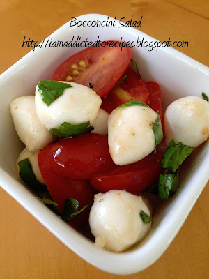 Bocconcini Salad - Addicted to Recipes