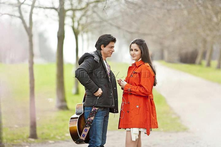 SRK Katrina Kaif London Ishq Wallpaper