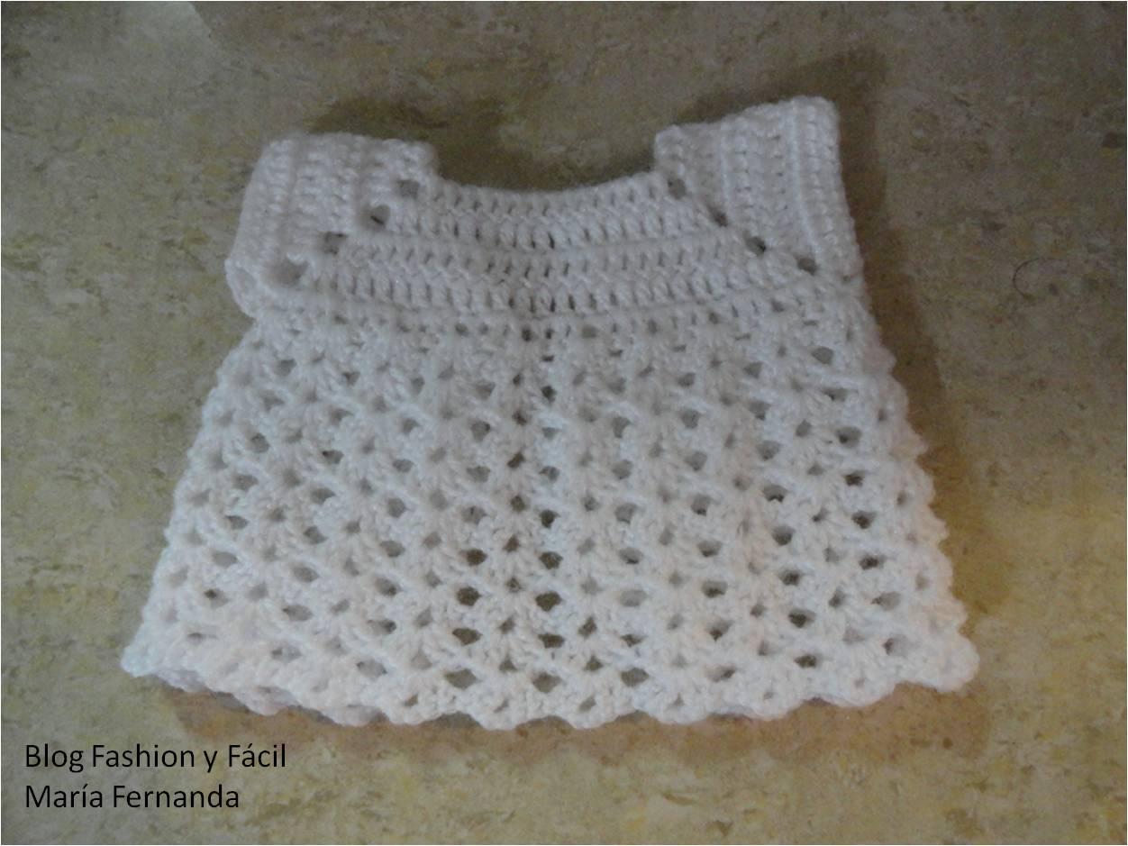 Fashion y Fácil : Cómo hacer un faldón o ropón tejido para el Niño ...