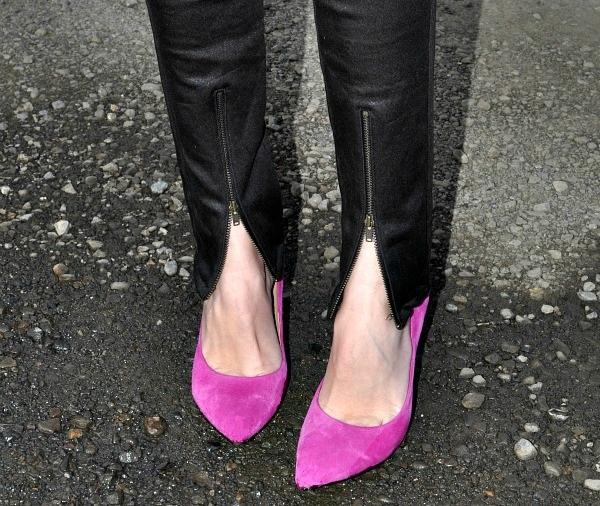 Zipper Front Jeans