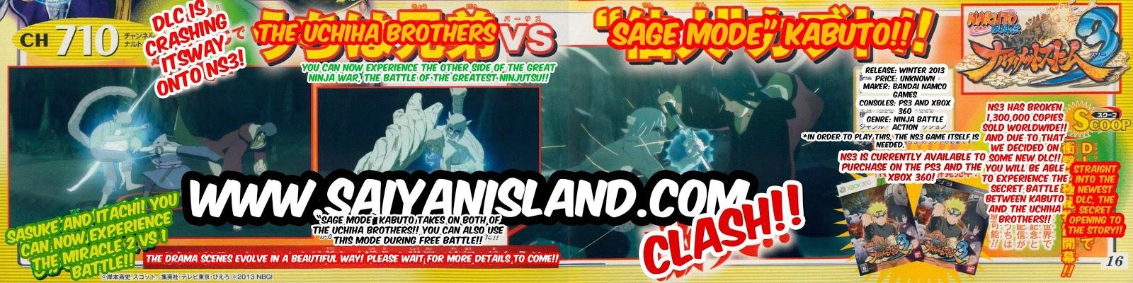 Naruto Shippuden : Ultimate Ninja Storm 3, Actu Jeux Video, Jeux Vidéo, CyberConnect2, Namco Bandai,