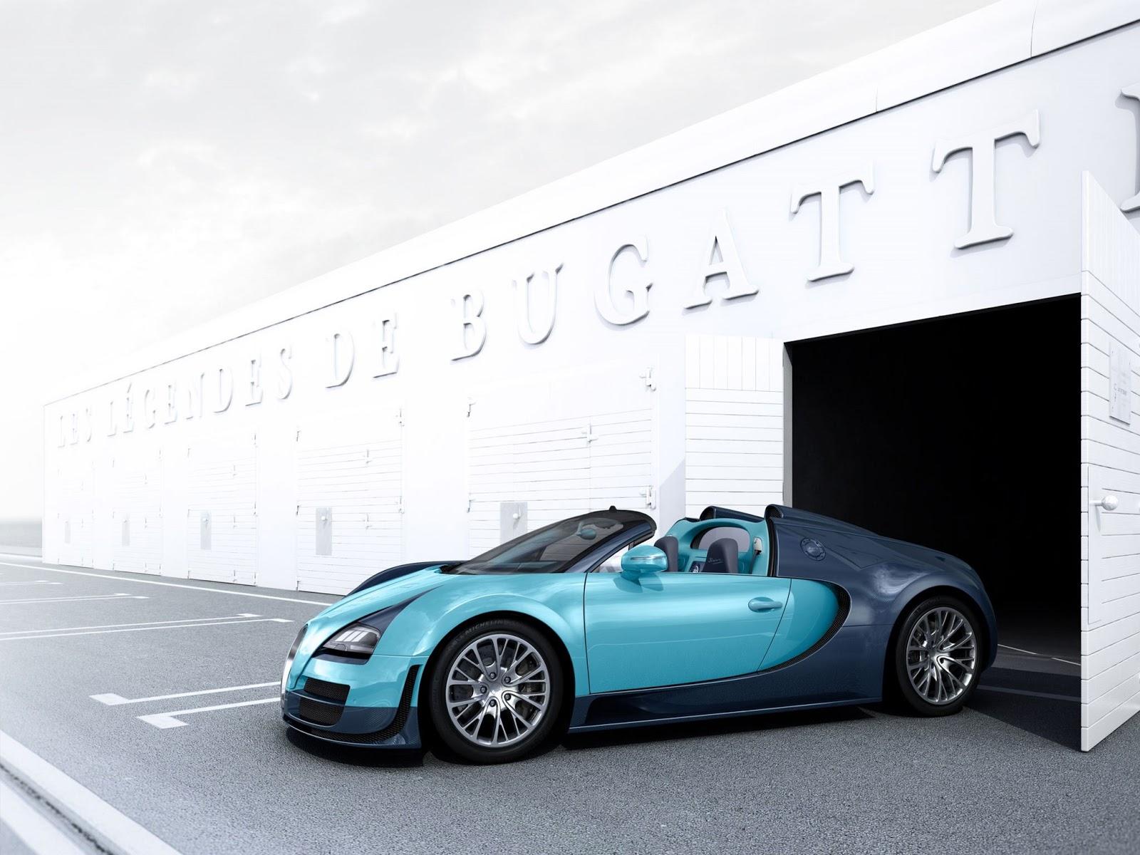 grey Bugatti Veyron 16.4 Grand Sport Vitesse HD Resimleri