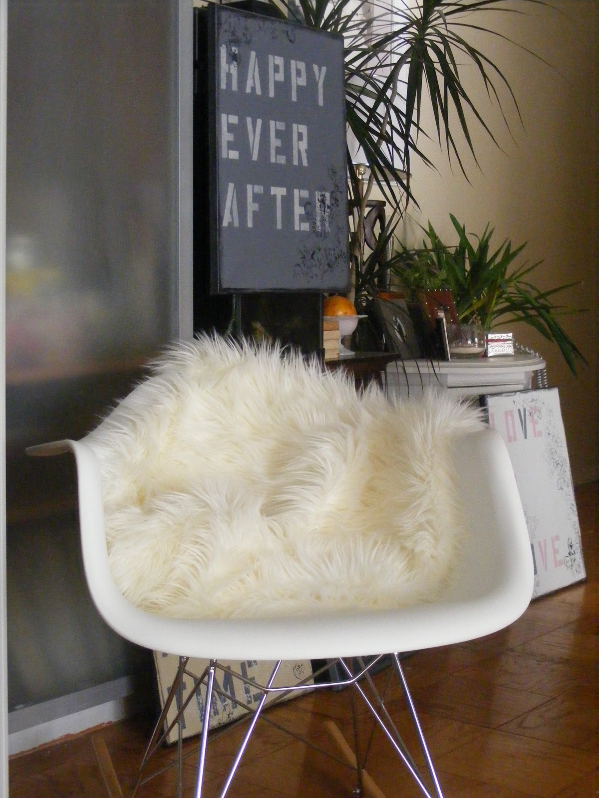 I Got Stuff On My Mind Faux Sheepskin Rug
