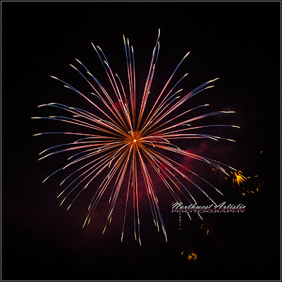 NW Artistic Photography, fireworks, Harrison, Idaho, the Beautiful Northwest