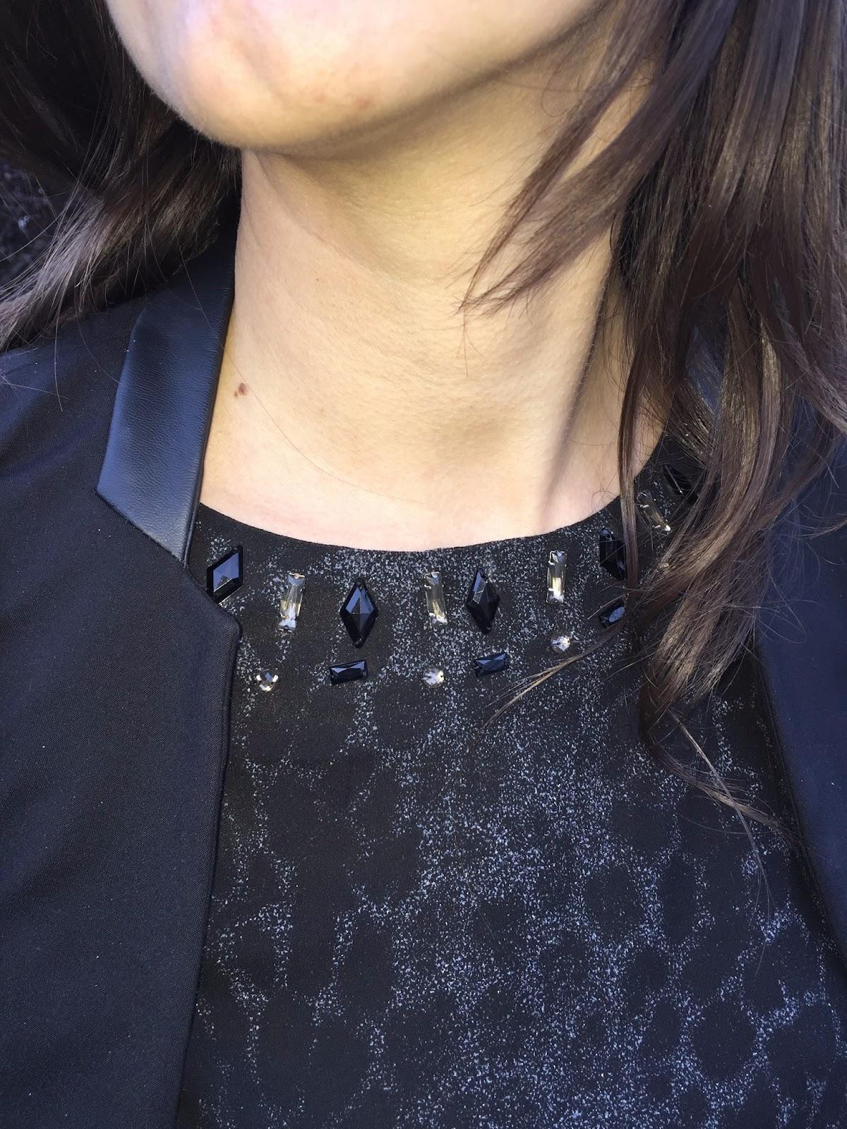robe suncoo léopard, sac actrice sandro, veste bi matière naf naf