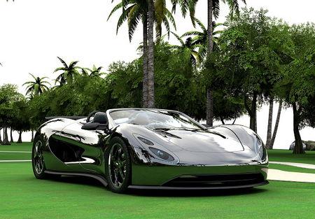 Ronn Unveils Hybrid Supercar