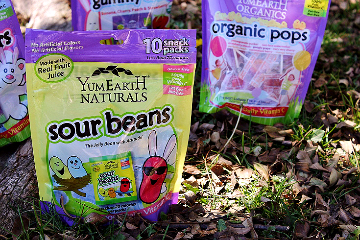 Pick up YumEarth Organic and Natural kids sweets for individually wrapped treats that make any holiday naturally sweet- just like your kids! #sponsored