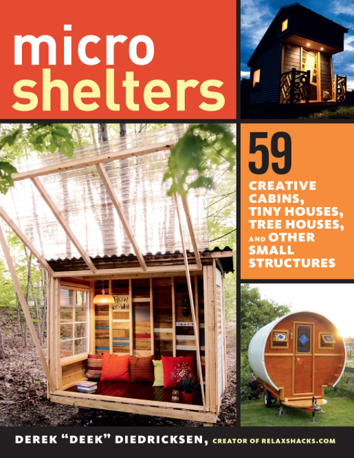 Deek 39 s new tiny house small structure for Small house design book pdf