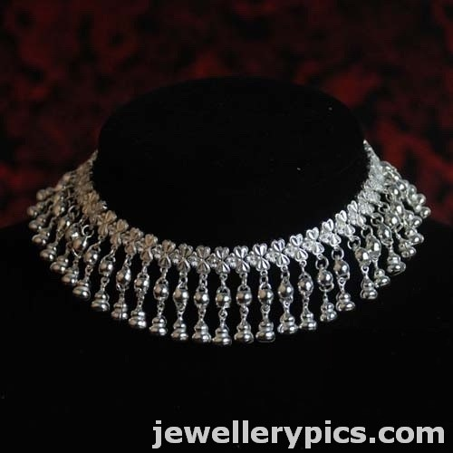 Beautiful Silver Anklet Pattilu Designs Latest