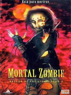Mortal zombie ( 1993 ) - Cartel de la película