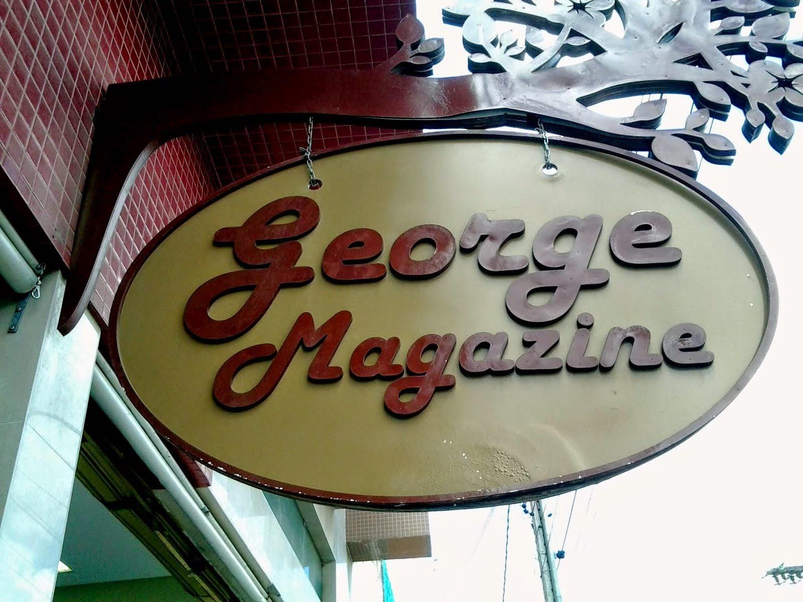 GEORGE MAGAZINE: 3634-4136