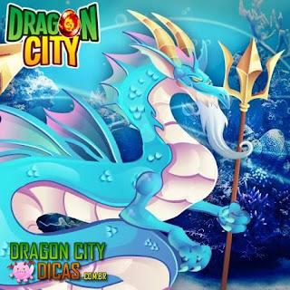 Dragão Poseidon