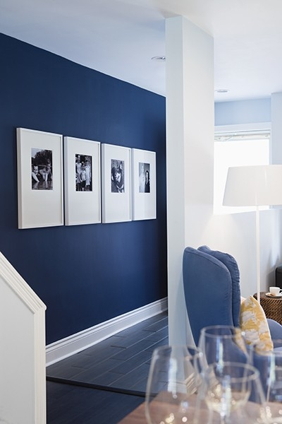 Blue Accent Wall Inspiration Of Navy Blue Accent Wall Pictures