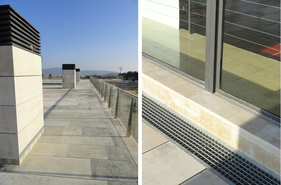 Arquitectura tecnica aplicada cubierta transitable en - Azotea transitable ...