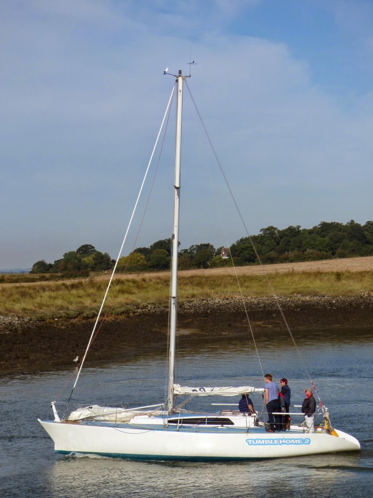 Shockwave40: Tumblehome 2   Stephen Jones Designed Half Ton IOR Yacht    Burnham Week 2014
