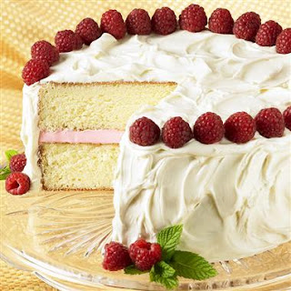 Simple White Chocolate Cake