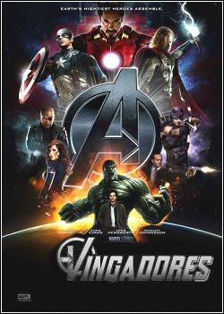 Capa Os Vingadores   Dublado legenda Poster