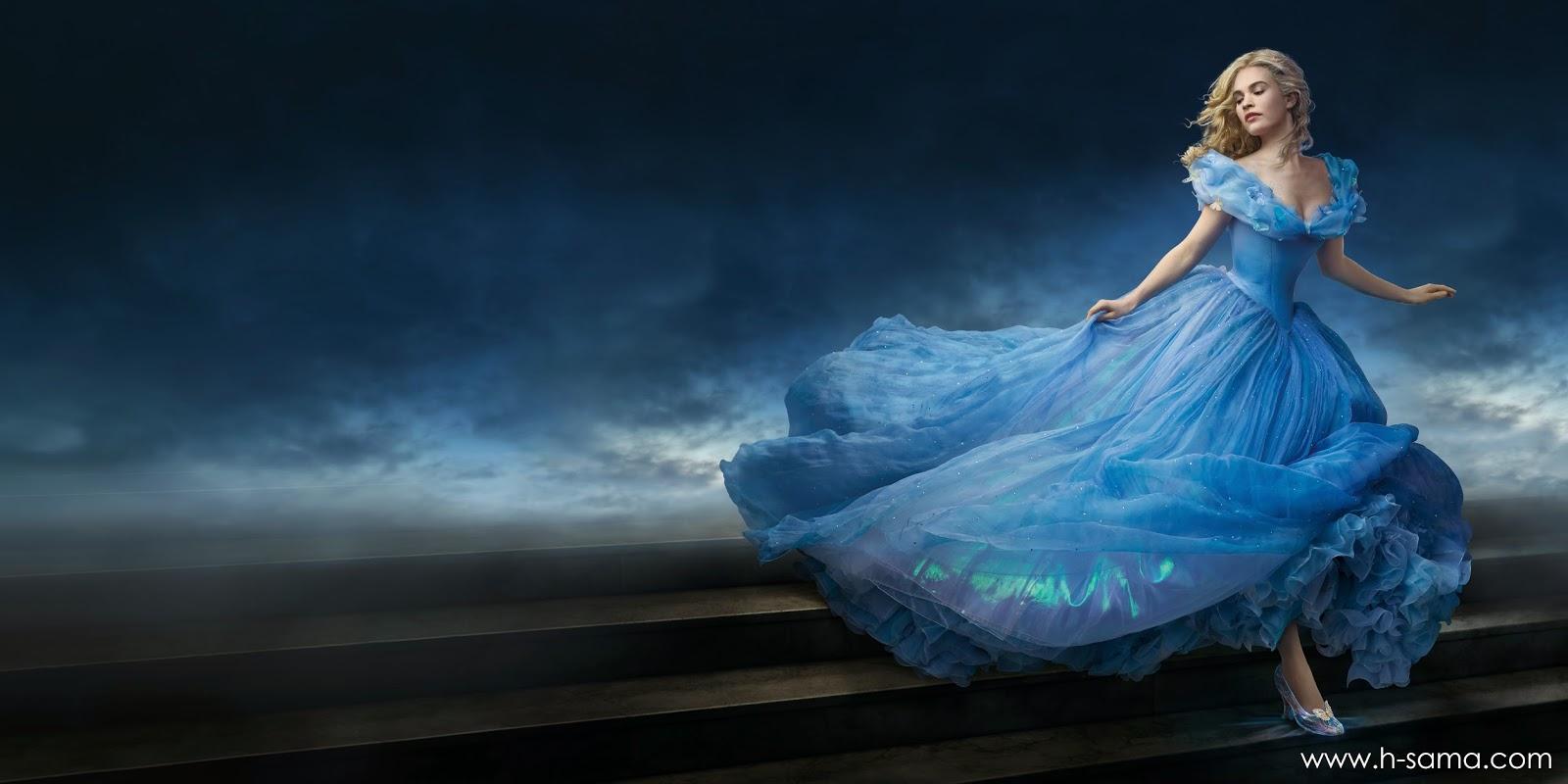 hsamablog como fazer vestido cinderella filme 2015 ball dress