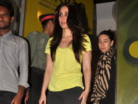  - Kareena Kapoor watch Agent vinod in Yellow Top