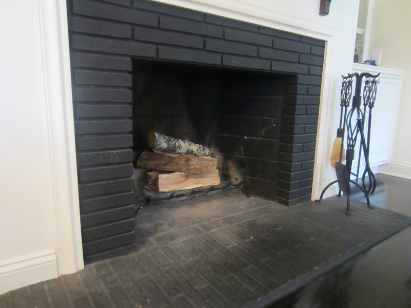 Our Londry Room Fireplace