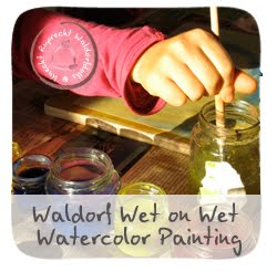 Waldorf Wet on Wet Watercolor Painting Tutorial
