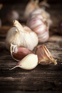 Garlic contains valuable prebiotics.