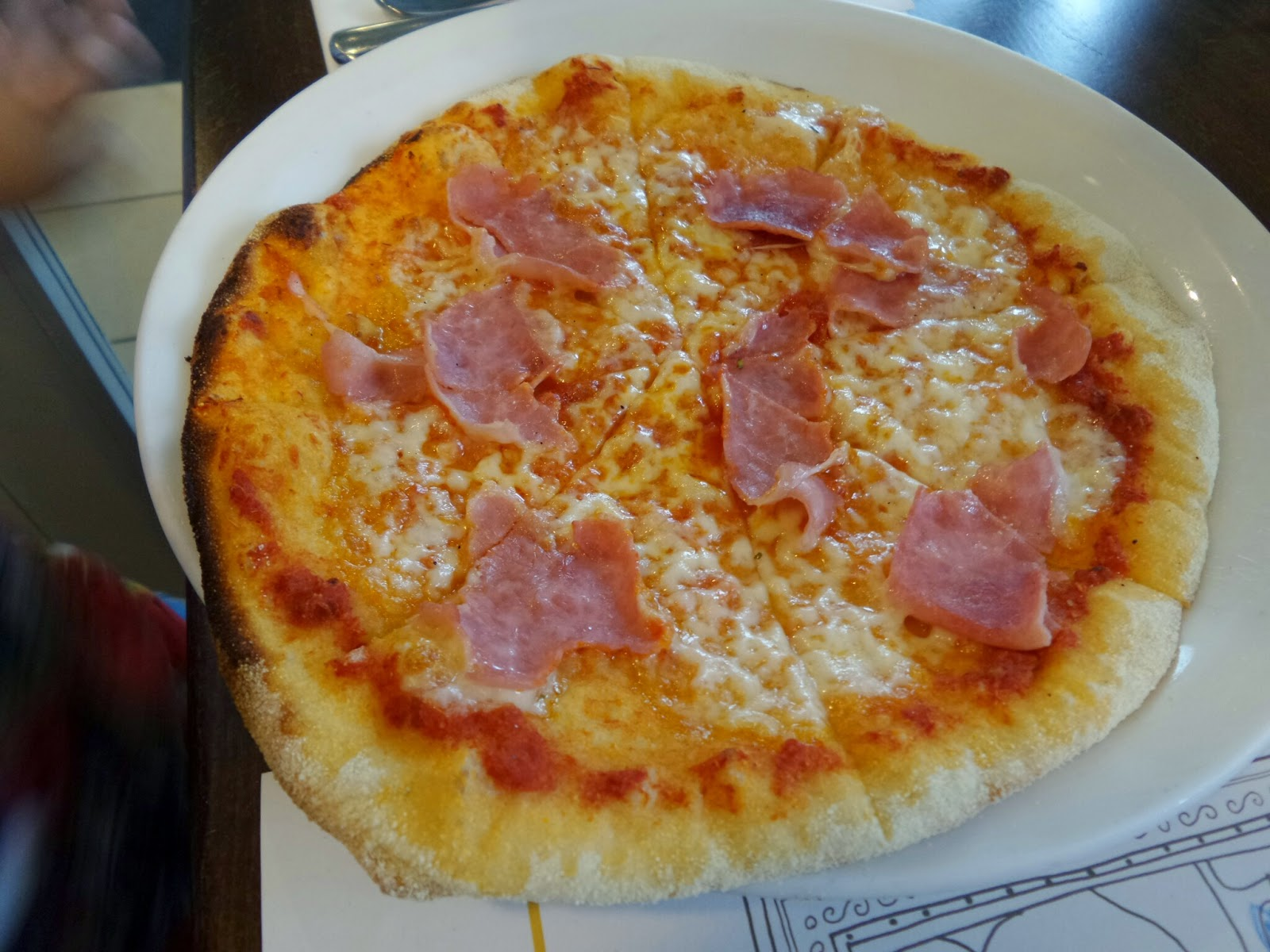 Zizzi's Bambini Pizza with Ham