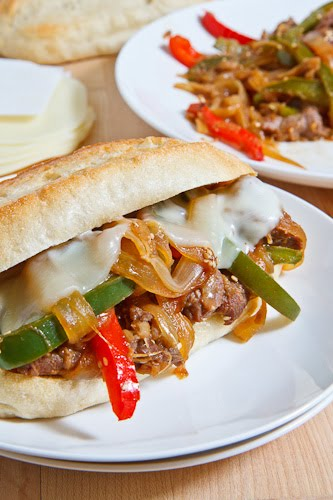 Bulgogi Cheesesteak Sandwich