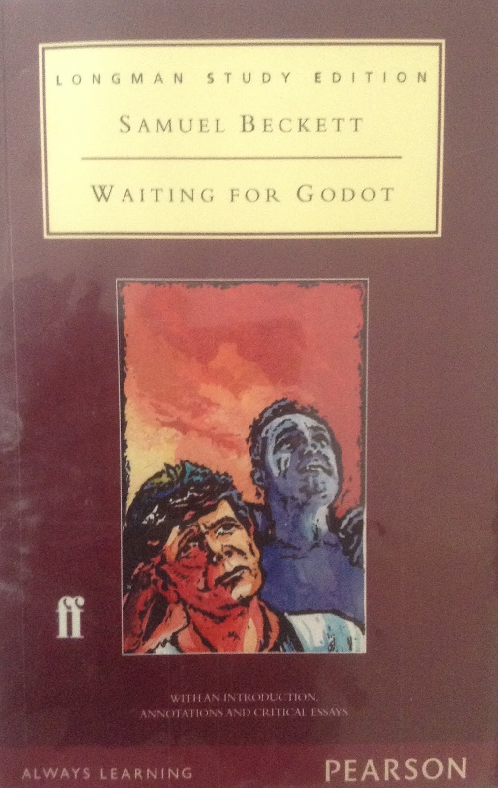 author s diction~vipin behari goyal waiting for godot an absurd absurd drama