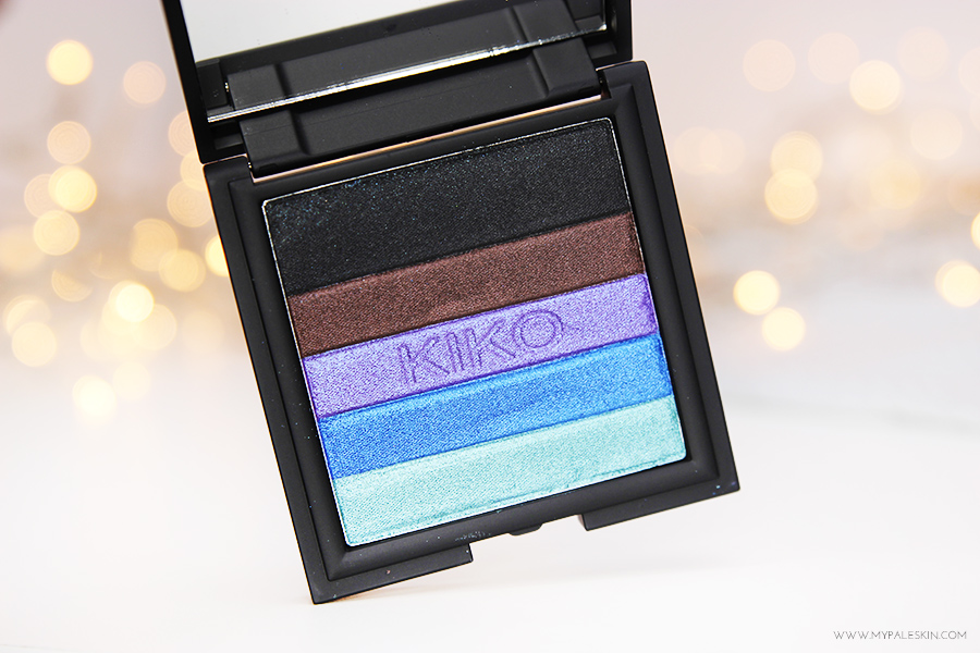 Kiko Cosmetics, Kiko Eyeshadow, haul, review, my pale skin, blog, Kiko Street Glam Eyeshadow and Eyeliner Palette, Shade 02