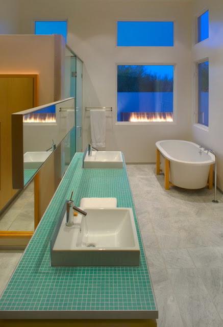 Фото большой ванной комнаты