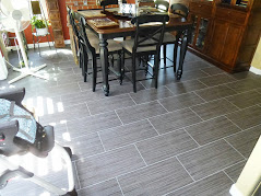 Porcelain Tile Flooring with the Running Bond Pattern