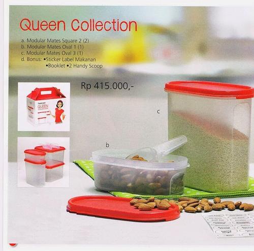 Tupperware Promo Agustus 2014 Queen Collection