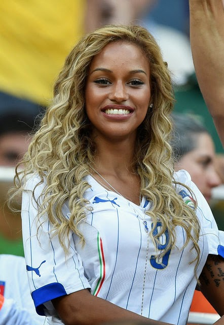 fiancee of Mario Balotelli