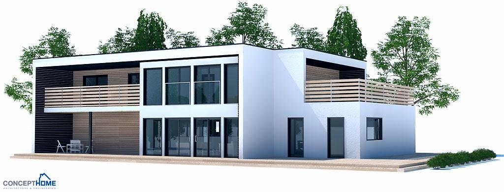 Proyectos de casas modernas proyecto de casa moderna ch202 for Proyectos casas modernas