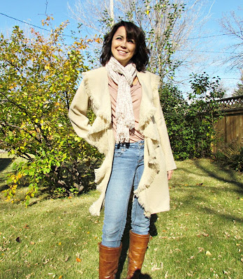 DIY Fall Coat, New Look 6538, Handmade Coat