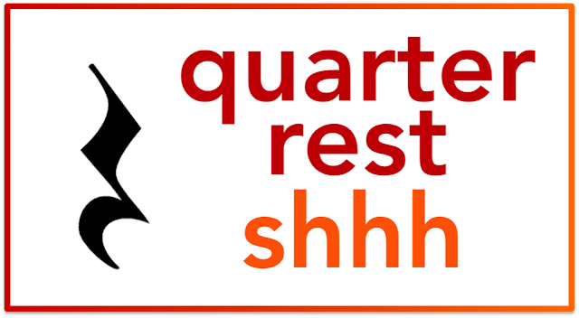 Quarter Note & Quarter Rest - Beth's Notes