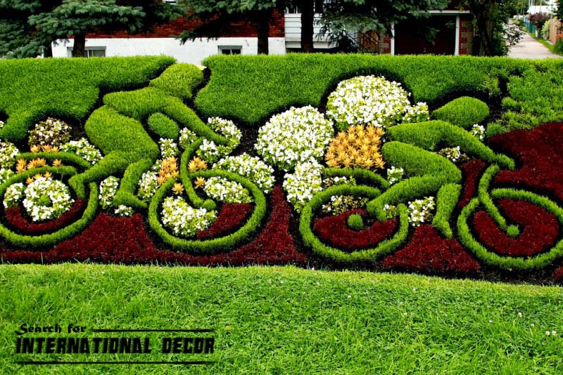 Unique landscaping ideas design and pictures for Garden design ideas with hedges