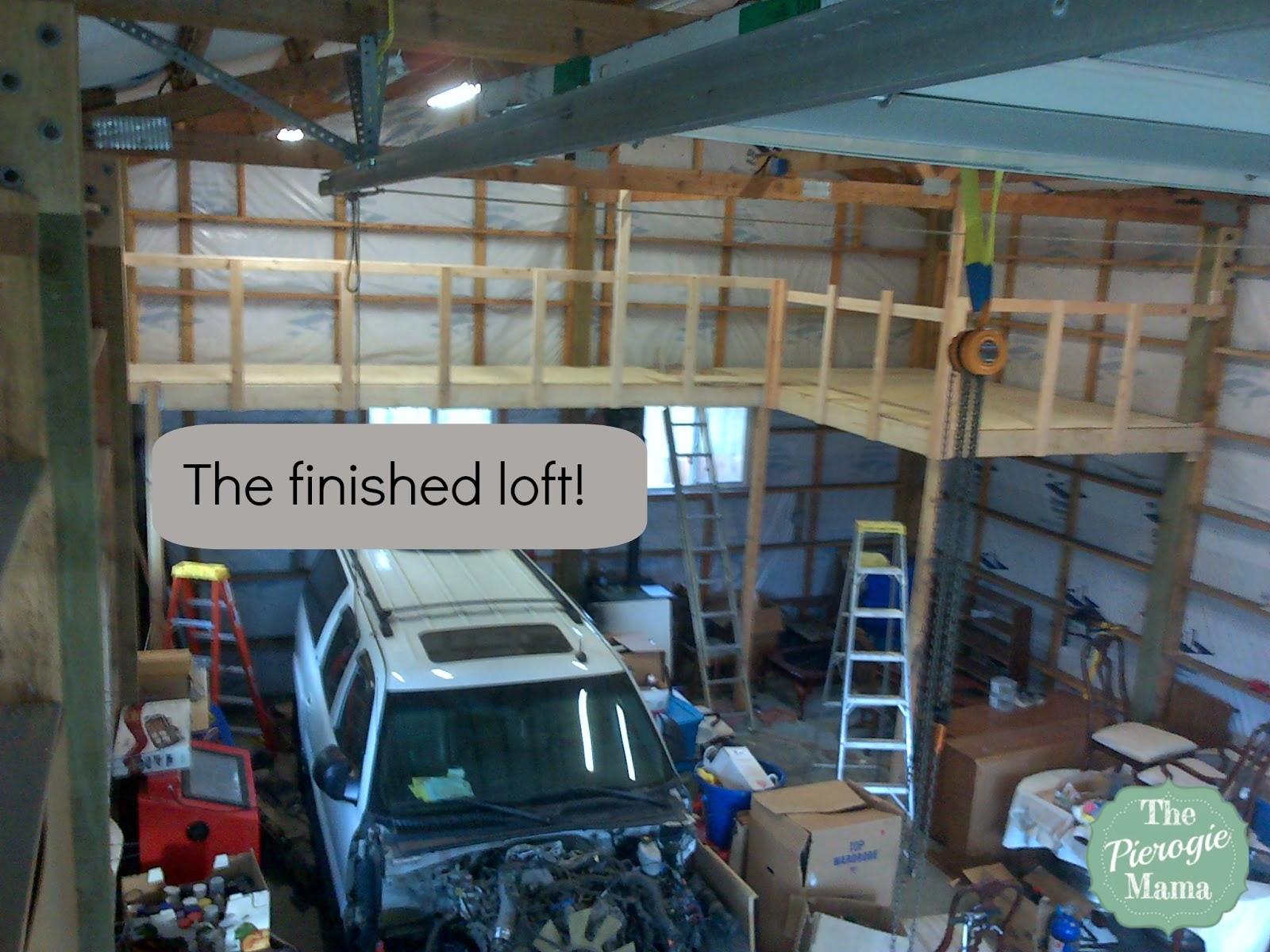 Displaying 15> Images For - Building Garage Storage Loft...