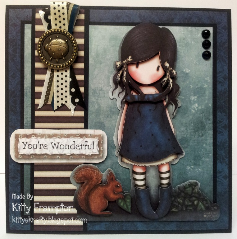 kittys krafty blog  gorjuss cards