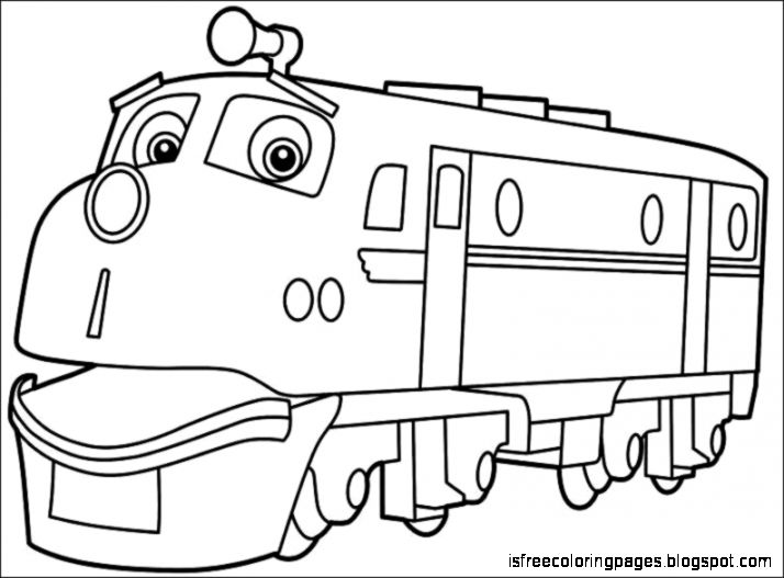 Chuggington Coloring Pages Free Coloring Pages