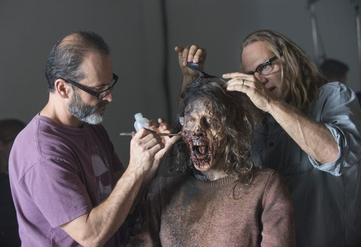 The Walking Dead - Previously unreleased Promotional and BTS Photos for 5.15 *Spoilers*