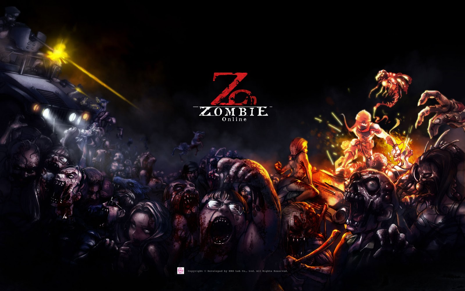 Zombie Online HD Wallpapers - 2011-2013 GAMES