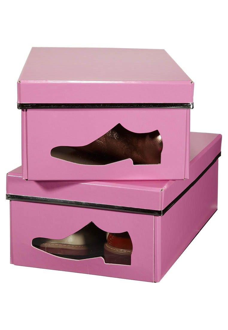 Diy cajas de zapatos musancreative - Cajas transparentes para zapatos ...
