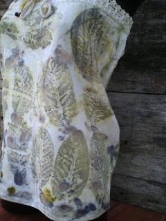 mini vestido estampada artesanalmente