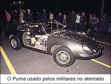 O atentado frustado foi uma tentativa de endurecimento da Ditadura planejado por membros da repressão