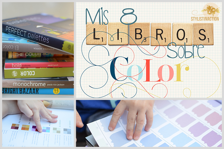 MIS 8 LIBROS SOBRE COLOR / Stylistinaction